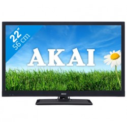 "Akai AL2222BK 22"" LED TV FHD DVB-T/C CI+,zwart,UPC"